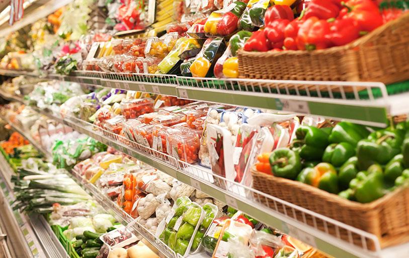 スーパーマーケットでの使用イメージ